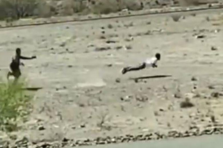 Video: Arrestado con 50 mil voltios en El Paso