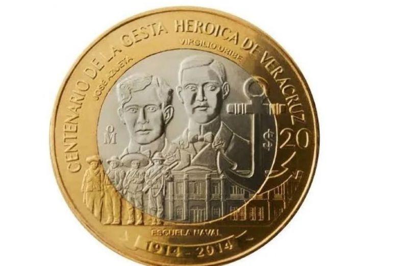 Esta moneda de 20 pesos se vende en hasta 4 mil
