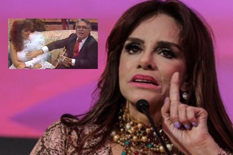 Lucía Méndez reacciona al video de Enrique Guzmán y Verónica Castro