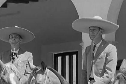 El Duque de Edimburgo se vistió de charro en México