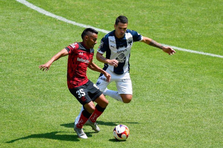 Monterrey vence a Toluca y se afianza en el tercer puesto