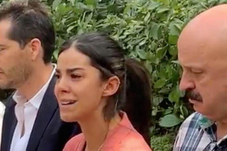 Con lágrimas, Daniela Berriel encara a Eduardo Ojeda