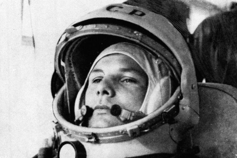 Yuri Gagarin, pionero en el viaje espacial