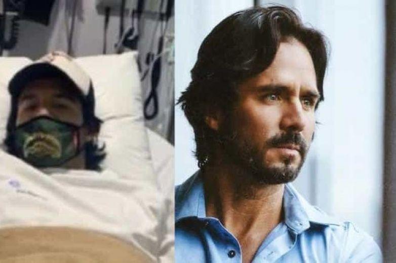 José Ron termina en el hospital por una picadura de alacrán