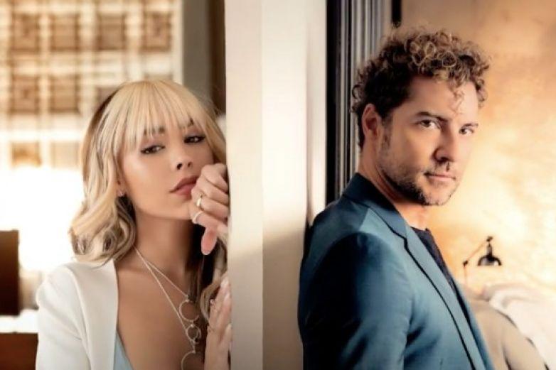 Danna Paola y David Bisbal preparan nueva música juntos