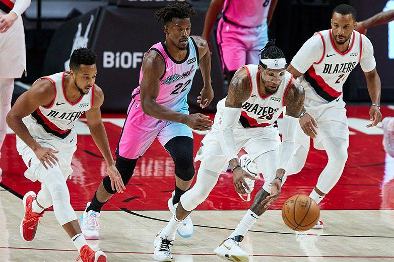 Adebayo anota 22 puntos y el Heat derrota a Blazers