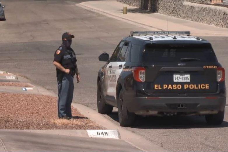 Era soldado hombre atrincherado junto con un bebé en El Paso
