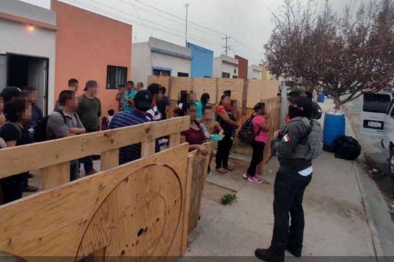 Rescatan a más de 250 migrantes en Tamaulipas