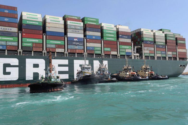 Confiscarán buque del Canal de Suez