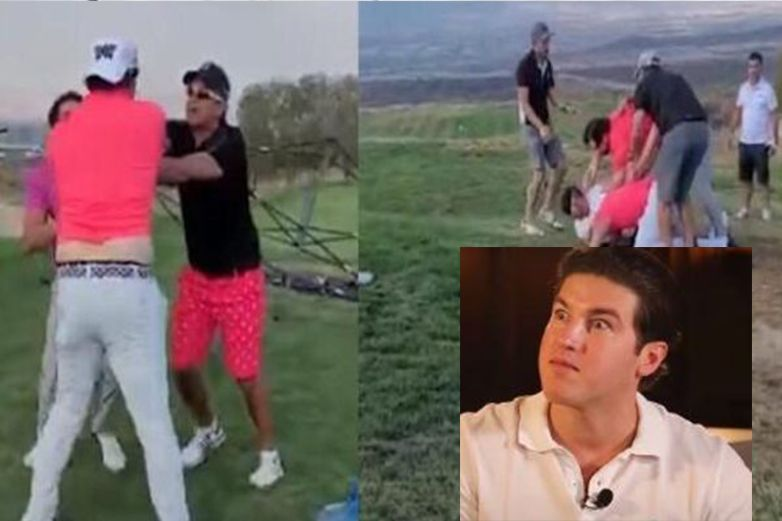 Mirreyes vs Mirreyes: se dan 'con todo' en un campo de golf