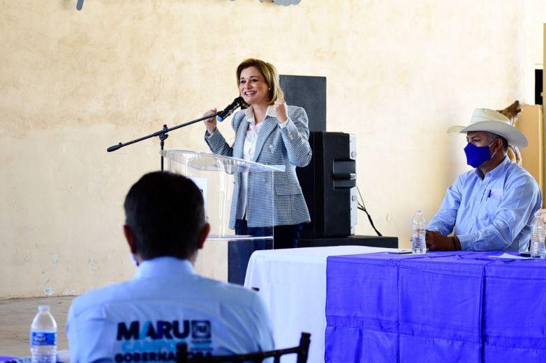 Por Chihuahua empezará la reconquista del país: Maru