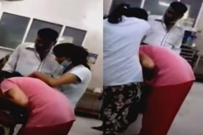 Video: Da respiración boca a boca a su madre víctima de Covid