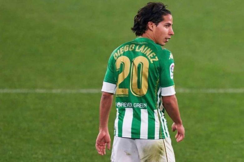 Lainez, de los mejor pagados en el Real Betis