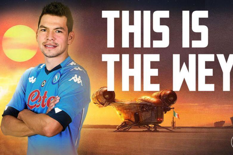 Napoli hace broma al Chuky por el #StarWarsDay