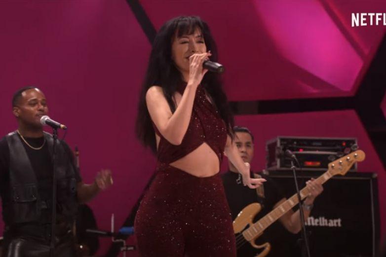 Grabar las escenas del Astrodome fue impresionante: actriz de Selena