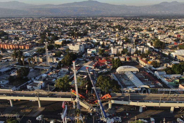 Video: Así se colapsó estructura de la Línea 12 en CDMX