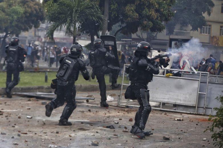 Protestas en Colombia dejan 19 muertos