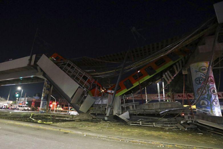Suman 23 muertos por derrumbe de Línea 12 del Metro