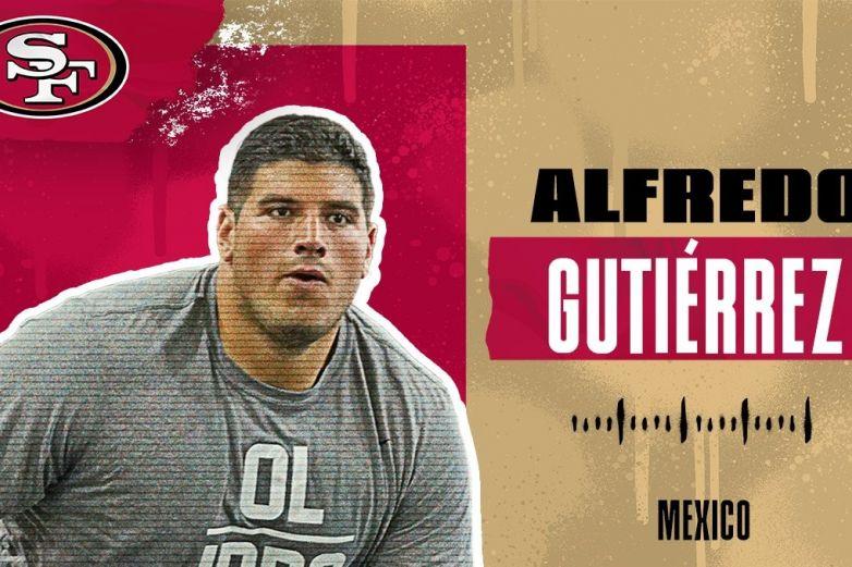 Alfredo Gutiérrez, el mexicano que se suma a los 49ers