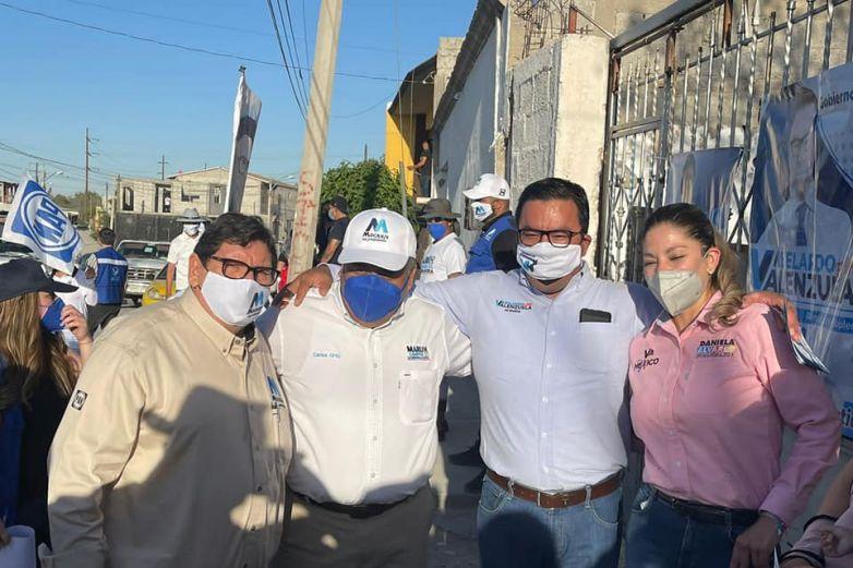 Recorren candidatos del PAN colonia Granjas de Chapultepec