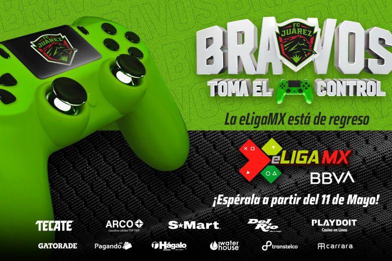 Bravos presenta a su equipo para la eLiga MX