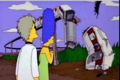 Aseguran que Los Simpson predijeron el desplome del Metro