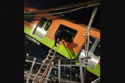 Extraños ayudaron a sacar a los heridos del Metro en la CDMX