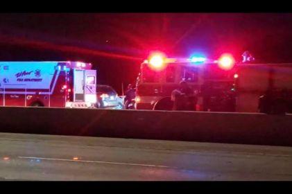 Choque en la I-10 deja un muerto y 11 heridos