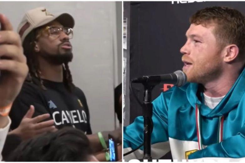 Video: ¡Fuc...you man! Canelo corre de conferencia a Demetrius Andrade