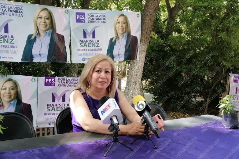 Propone Marisela Sáenz plan emergente de pavimentación