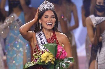 ¡Orgullo chihuahuense! Andrea Meza gana Miss Universo 2021