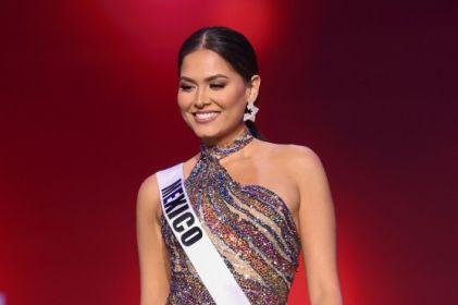 Miss Universo: Andrea Meza imponente en vestido de gala