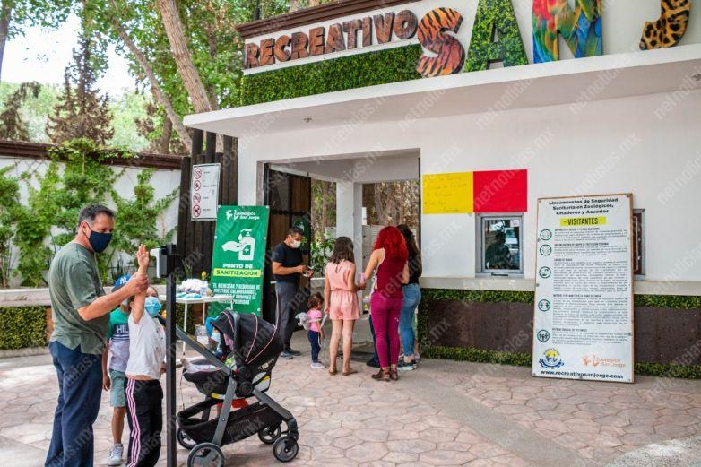 Zoológico San Jorge, el refugio de los animales