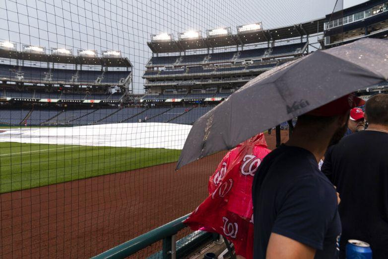 Lluvia aplaza juego entre Gigantes y Nacionales