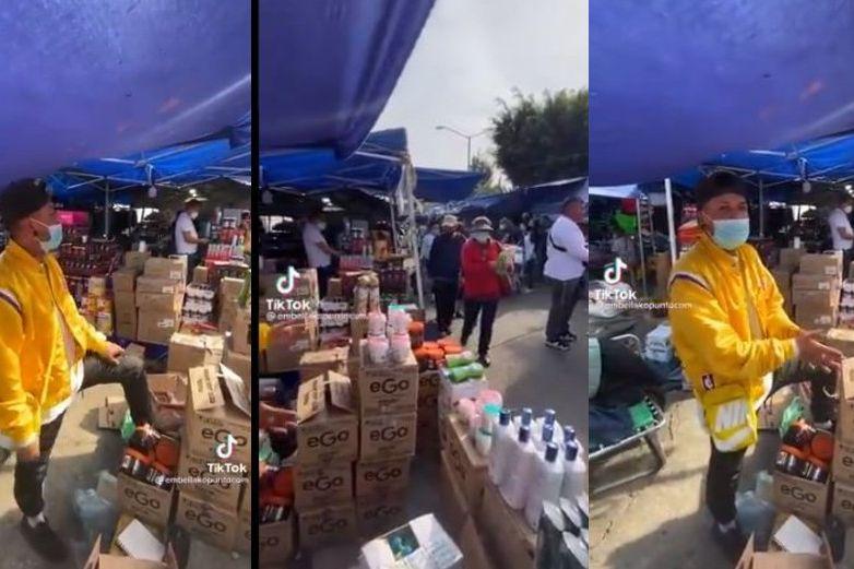 Video: 'Es robadito, pero no clonadito', vendedor se hace viral