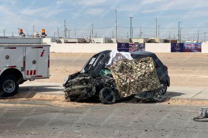 Vinculan a mujer por muerte de conductor tipo Uber y pasajero