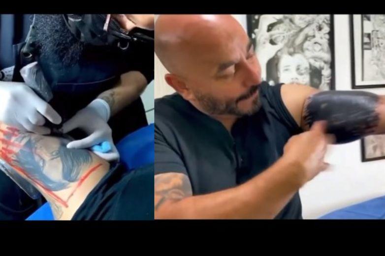 Video: Así se quitó el tatuaje Lupillo