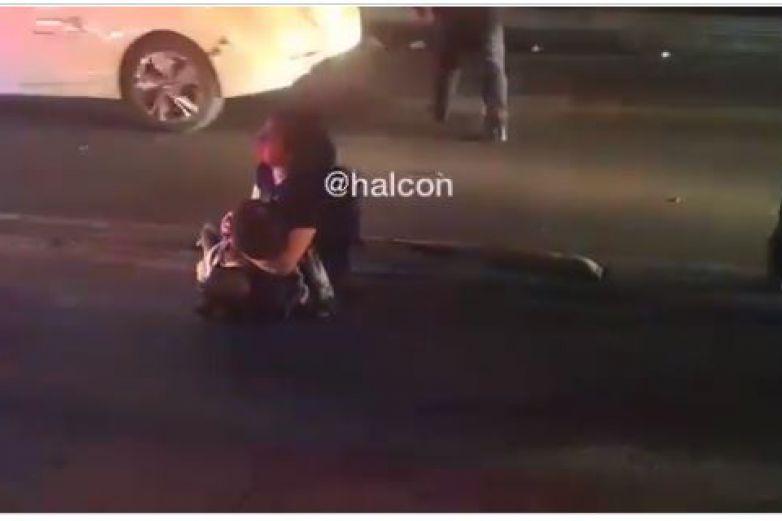 Video: Menor fallece en los brazos de su madre tras accidente