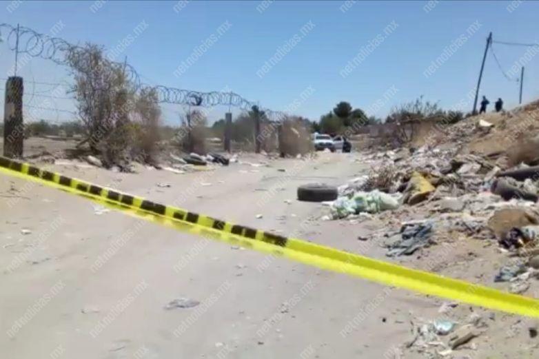 Ultiman a hombre y le prenden fuego en carretera Juárez-Porvenir