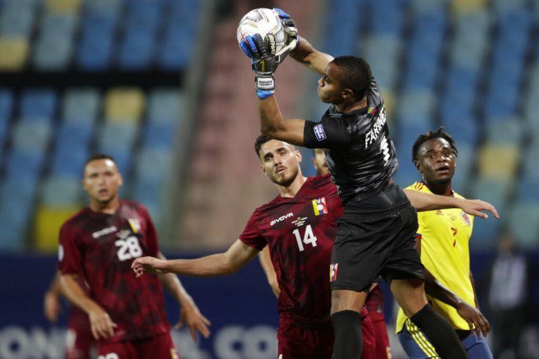 Faríñez da empate a Venezuela ante Colombia
