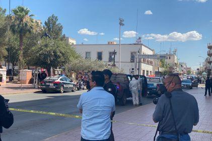 Fuera de peligro hombre que se disparó afuera del Palacio de Gobierno
