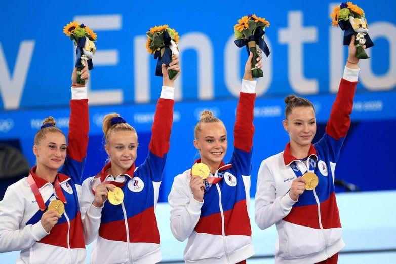 Rusas vencen a un EU sin Biles en la final de gimnasia