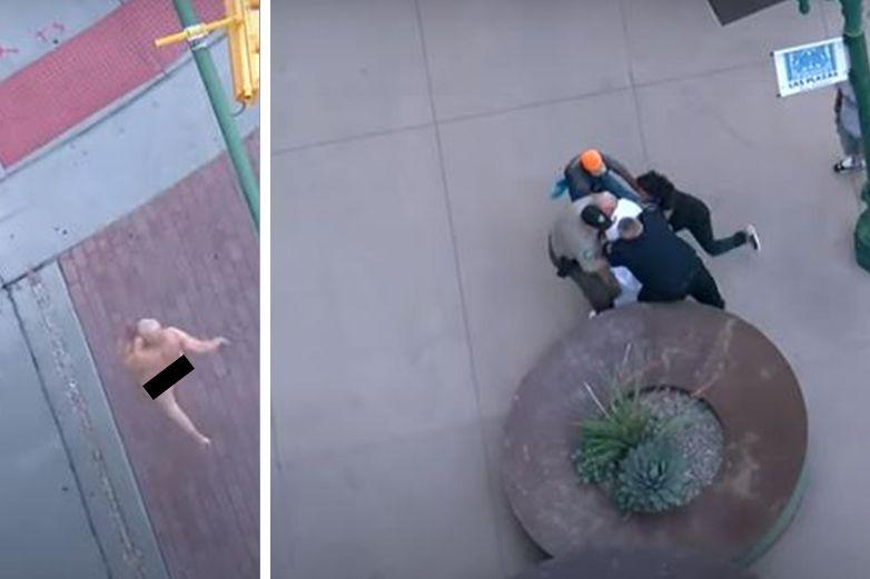 Detienen a exhibicionista en el centro de El Paso