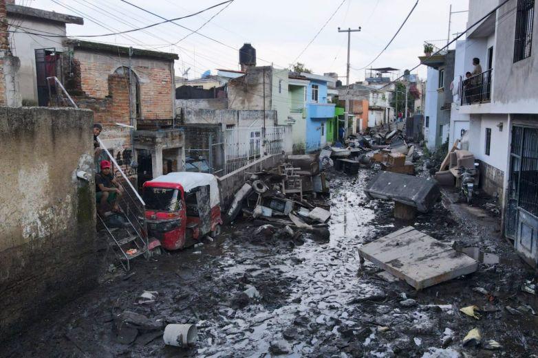 Lluvias en Jalisco dejan 4 muertos