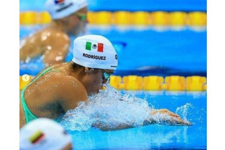 Nadadora chihuahuense finaliza su participación en Tokio 2020
