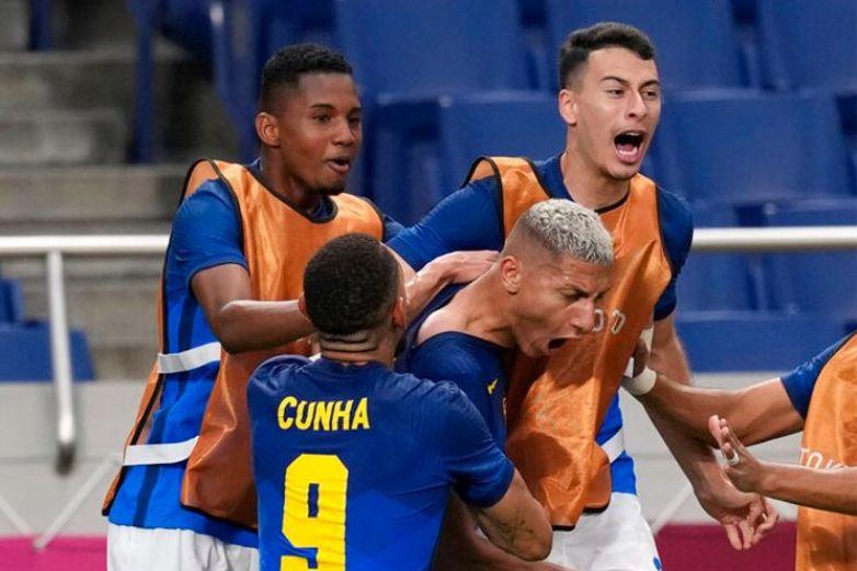 Brasil avanza a cuartos de final en los Olímpicos
