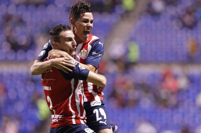 Chivas derrota a Puebla