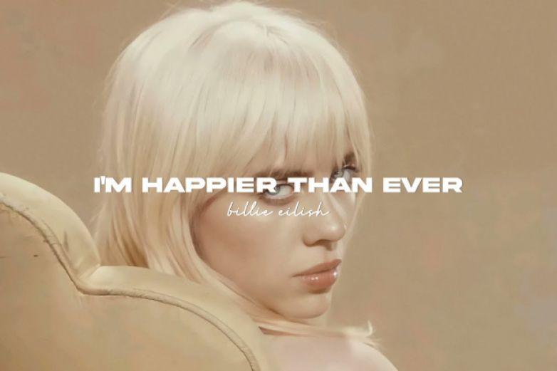 Billie Eilish lanza su álbum 'Happier Than Ever'