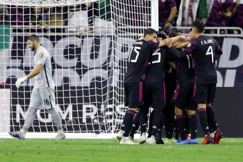 Se enfrentan México y Estados Unidos por título de Copa Oro
