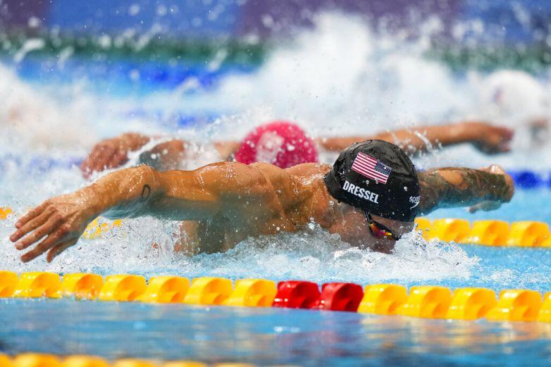 Gana Dressel los 100 metros mariposa con récord mundial